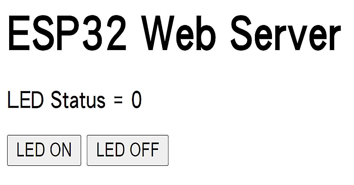 | ESP32 教學 | MicroPython |  ESP32 WebServer 實現遠端控制 | 308 |