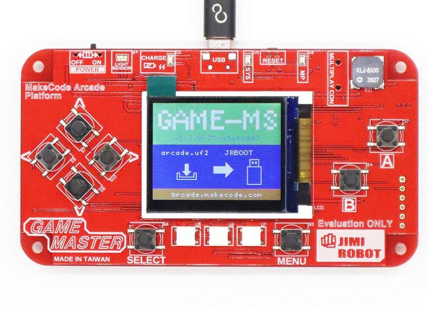 | makecode arcade | Game Master 遊戲開發板|
